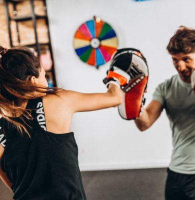 Boxe training, Boxing