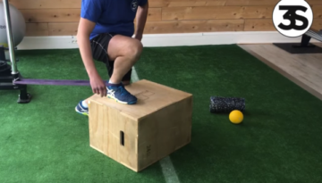 Mobilité cheville, ankle mobilité