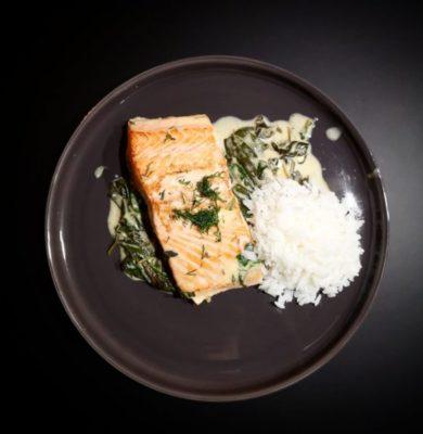 recette-saumon-epinards
