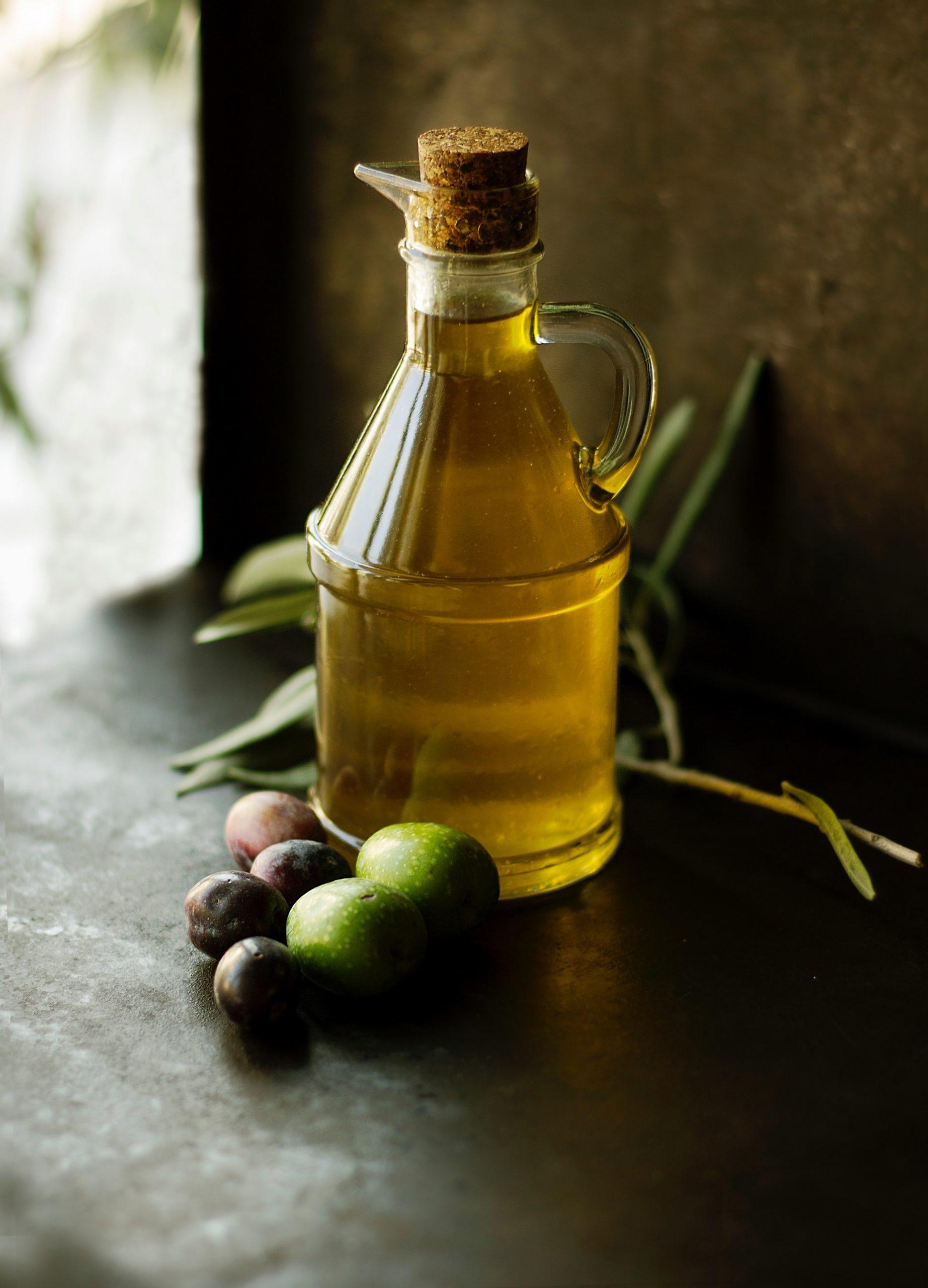 flacon huile végétale d'olive